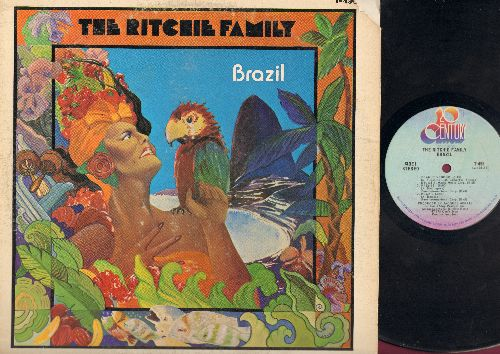 Ritchie Family - Brazil: Peanut Vendor, Frenesi, Brazil, Dance With Me, Life Is Fascination, Lady Champagne, Let's Pool, Pinball (Vinyl Stereo LP Record) (cover cutout corner) - VG7/VG7 - LP Records
