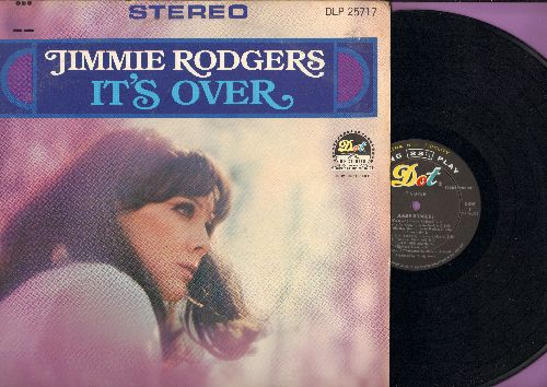 Rodgers, Jimmie - It's Over: Sloop John B., Land Of Milk And Honey, The Grass Is Greener, La-De-Da, Lonely Tears (Vinyl STEREO LP record, NICE condition!) - NM9/EX8 - LP Records