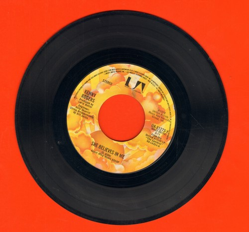 Rogers, Kenny - She Believes In Me/Morgana Jones  - EX8/ - 45 rpm Records