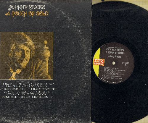 Rivers, Johnny - A Touch Of Gold: Baby I Need Your Lovin', Poor Side Of Town, The Tracks Of My Tears (vinyl STEREO LP record) - EX8/VG7 - LP Records