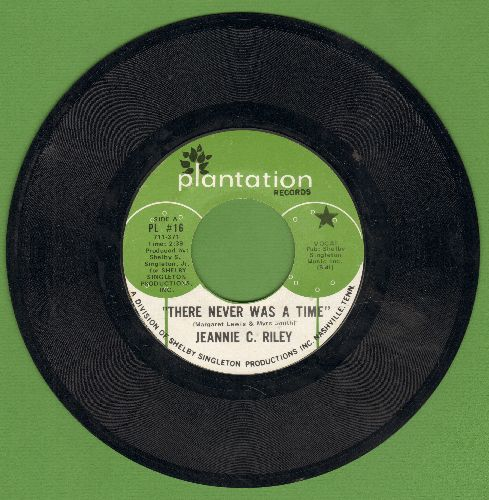 Riley, Jeannie C. - There Never Was A Time (ULTRA-SENTIMENTAL rags-to-riches story)/Back To School - EX8/ - 45 rpm Records