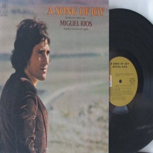 Rios, Miguel - A Song Of Joy (Alle Menschen werden Brueder): Himno A La Alegria, Soledad, Like An Old Time Movie (Vinyl STEREO LP record) - EX8/EX8 - LP Records