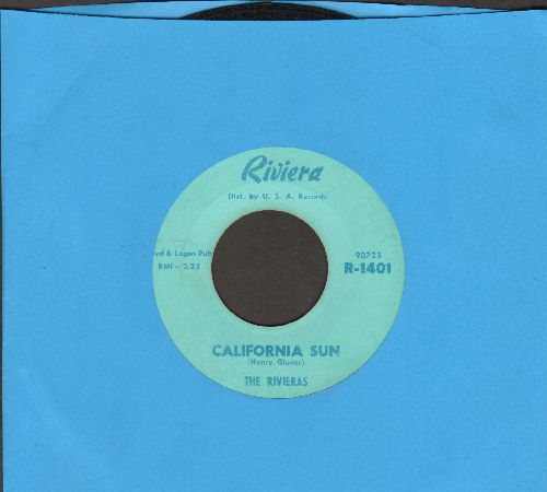 Rivieras - California Sun/H B Goose Step  - EX8/ - 45 rpm Records