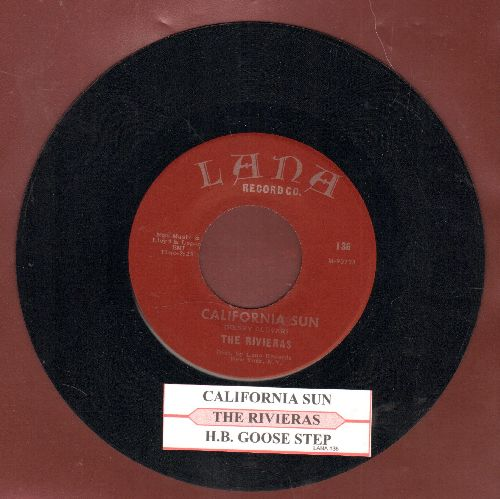 Rivieras - California Sun/H.B. Goose Step (early re-issue with juke box label) - EX8/ - 45 rpm Records