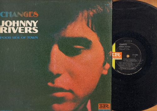 Rivers, Johnny - Changes: Poor Side Of Town, Do You Wanna Dance?, Softly As I Leave You, California Dreamin' (Vinyl STEREO LP record, still in shrink wrap) - NM9/EX8 - LP Records