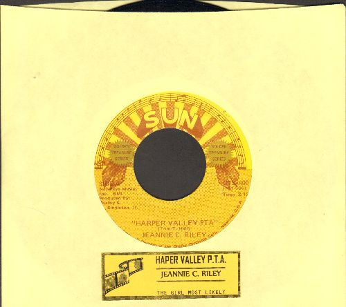 Riley, Jeannie C. - Harper Valley P.T.A. (Juke Box Favorite!)/The Girl Most Likely (double-hit re-issue) - EX8/ - 45 rpm Records