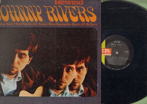 Rivers, Johnny - Rewind: Baby I Need Your Lovin', Carpet Man, Tunesmith, Tracks Of My Tears, For Emely - Whenever I May Find Her (Vinyl MONO LP record, gate-fold cover) - NM9/EX8 - LP Records