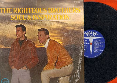 Righteous Brothers - Soul & Inspiration: He Will Break Your Heart, I'm Leaving It Up To You, In The Midnight Hour (Vinyl STEREO LP record, shrink wrap) - EX8/NM9 - LP Records