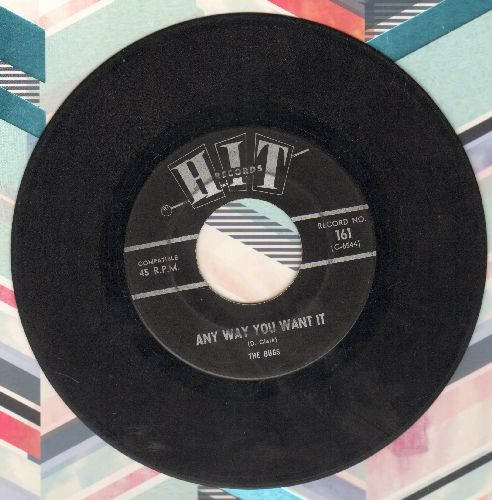 Bugs - Any Way You Want It/Sidewalk Surfin' (by The Jalopy Five on flip-side) (contemporary cover versions) - VG7/ - 45 rpm Records