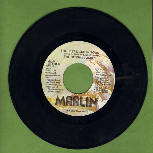 Ritchie Family - The Best Disco In Town (Parts 1+2) - EX8/ - 45 rpm Records