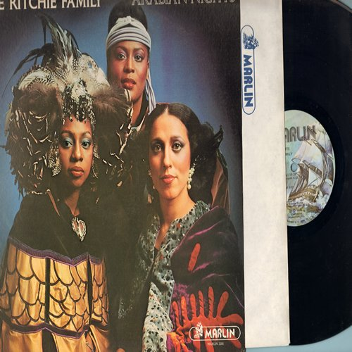 Ritchie Family - Arabian Nights: The Best Disco In Town (6:35 minute extended version), Baby I'm On Fire (5:05), Romantic Love (5:55), Arabian Nights Medley, In A Persian Market (German Pressing) - M10/NM9 - LP Records