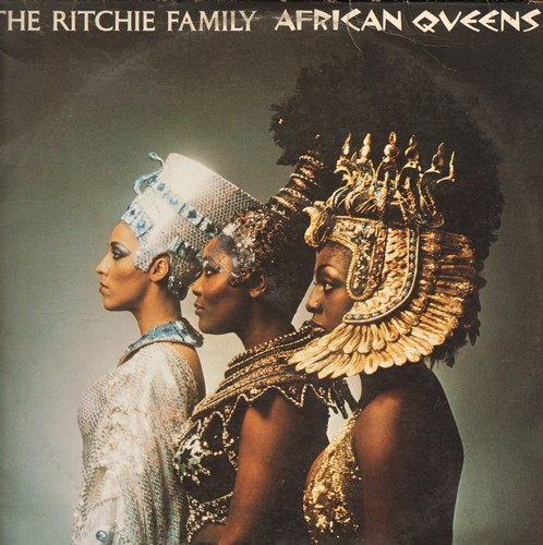 Ritchie Family - African Queens: Theme Of Nefertiti, Theme Of Cleopatra, Quiet Village, Voodoo (Vinyl STEREO LP record) - EX8/VG7 - LP Records