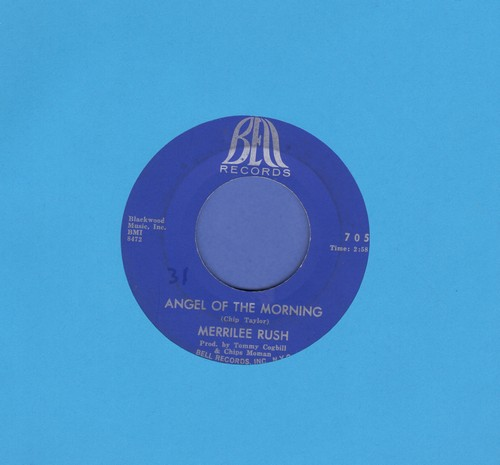 Rush, Merrilee - Angel Of Morning/Reap What You Sow  - VG7/ - 45 rpm Records