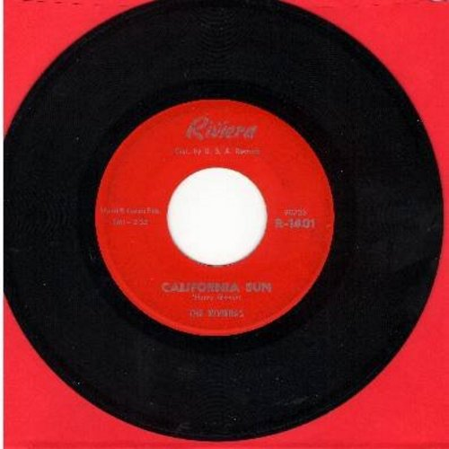 Rivieras - California Sun/H B Goose Step  (red label issue, bb) - VG7/ - 45 rpm Records
