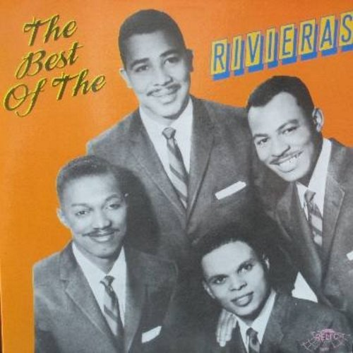 Rivieras - The Best Of The Rivieras: Moonlight Serenade, Easy To Remember, El Dorado, Moonlight Cocktails, My Silent Love, Count Every Star, Our Love (Vinyl LP record, re-issue of vintage Doo-Wop recordings) - M10/NM9 - LP Records