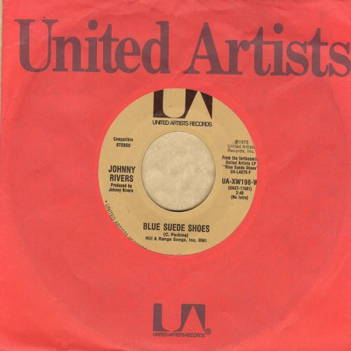 Rivers, Johnny - Blue Suede Shoes/Stories To A Child - NM9/ - 45 rpm Records
