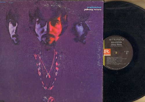 Rivers, Johnny - Realization: Hey Joe, Summer Rain, Whiter Shade Of Pale, Going Back To Big Sur, Positively 4th Street (Vinyl STEREO LP record, gate-fold cover) - VG7/VG7 - LP Records