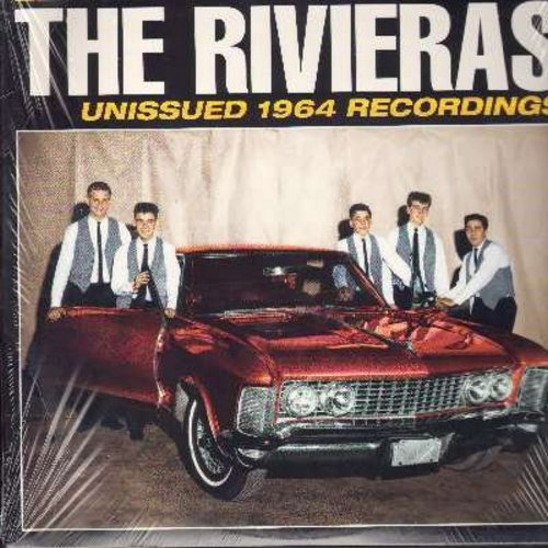 Rivieras - Let's Stomp With The Rivieras: Arizona Sun, Sarah Lee, Blueberry Hill, Let's Dance, Wild Weekend, Money, Do You Wanna Dance (re-issue of vintage Dra-Surf recordings, SEALED, never opened!) - SEALED/SEALED - LP Records