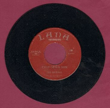 Rivieras - California Sun/H.B. Goose Step (early re-issue) - EX8/ - 45 rpm Records