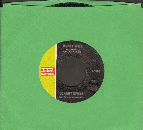 Rivers, Johnny - Muddy River/Resurrection - NM9/ - 45 rpm Records