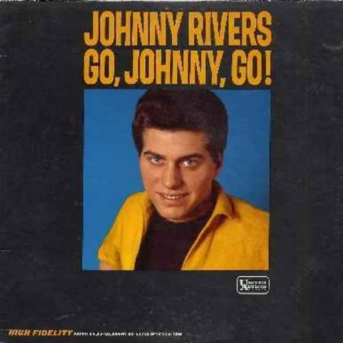 Rivers, Johnny - Go, Johnny, Go!: Blue Skies, To Be Loved, Knock Three Times, There'll Be Bluebirds Over The White Cliffs Of Dover (Vinyl MONO LP record) - NM9/VG7 - LP Records