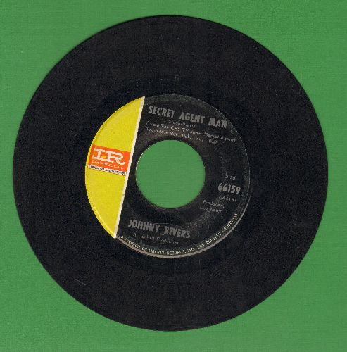 Rivers, Johnny - Secret Agent Man/You Dig  - VG7/ - 45 rpm Records