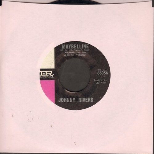 Rivers, Johnny - Maybelline/Walk Myself On Home - VG7/ - 45 rpm Records