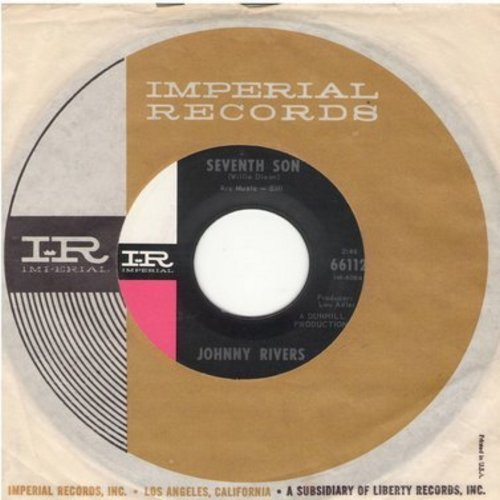 Rivers, Johnny - Seventh Son/Un-Square Dance (with Imperial company sleeve) - NM9/ - 45 rpm Records