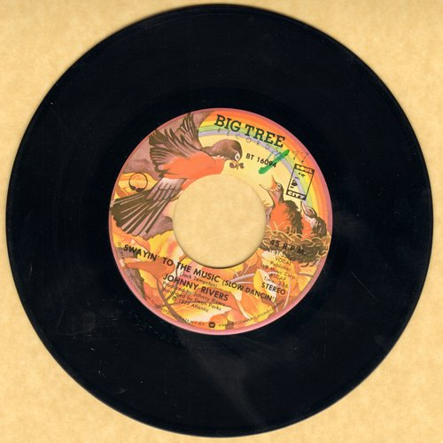 Rivers, Johnny - Swayin' To The Music (Slow Dancin')/Outside Help - EX8/ - 45 rpm Records