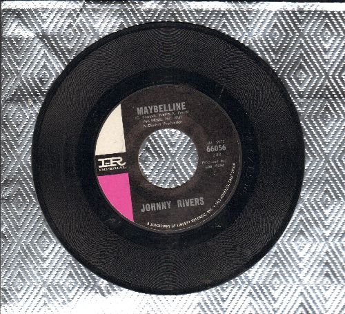 Rivers, Johnny - Maybelline/Walk Myself On Home - NM9/ - 45 rpm Records