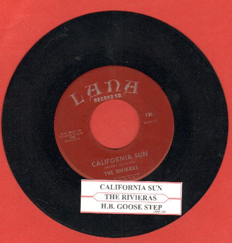 Rivieras - California Sun/H.B. Goose Step (early re-issue with juke box label - NM9/ - 45 rpm Records