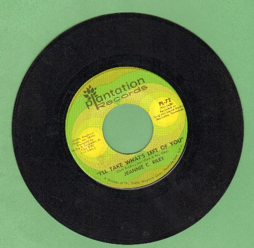 Riley, Jeannie C. - I'll Take What's Left Of You/Oh, Singer - EX8/ - 45 rpm Records