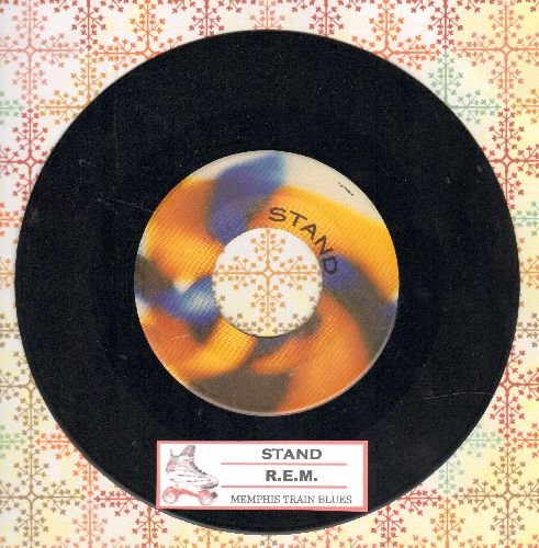 R.E.M. - Stand!/Memphis Train Blues (with juke box label) - EX8/ - 45 rpm Records