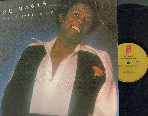 Rawls, Lou - All Things In Time: You'll Never Find Another Love Like Mine, Groovy People, From Now On, Pure Imagination (vinyl STEREO LP record) - EX8/VG7 - LP Records