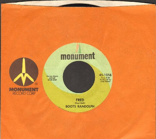 Randolph, Boots - Fred/Wonderland By Night (with Monument company sleeve) - NM9/ - 45 rpm Records