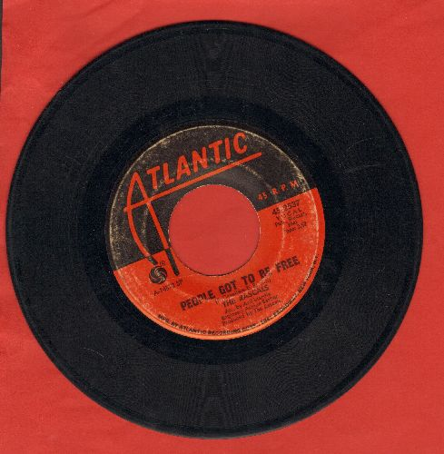 Rascals - People Got To Be Free/My World  - VG6/ - 45 rpm Records