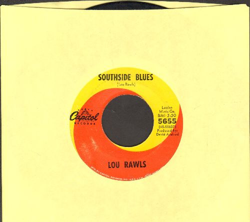 Rawls, Lou - Southside Blues/The Shadow Of Your Smile  - EX8/ - 45 rpm Records