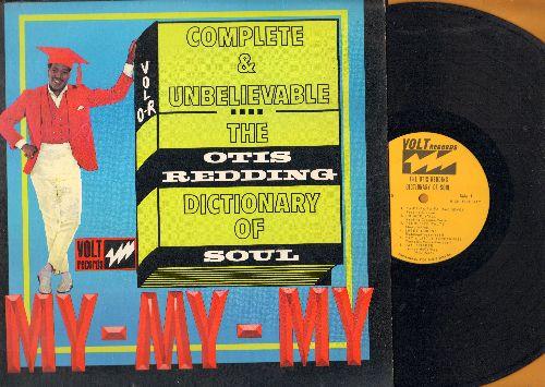 Redding, Otis - The Otis Redding Dictionary Of Soul:Sweet Lorene, Day Tripper, Ton Of Joy, Love Have Mercy (vinyl MONO LP record) - VG7/EX8 - LP Records