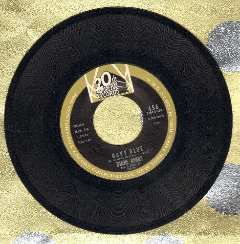 Renay, Diane - Navy Blue/Unbelievable Guy  - NM9/ - 45 rpm Records