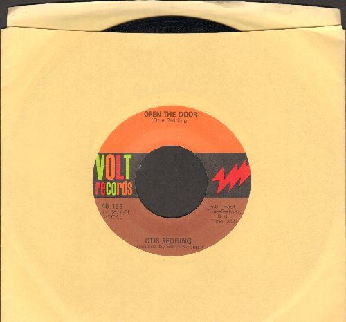 Redding, Otis - Open The Door/The Happy Song (Dum Dum)/Open The Door  - NM9/ - 45 rpm Records