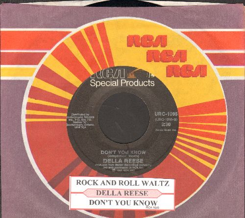 Reese, Della - Don't You Know/Rock And Roll Waltz (by Kay Starr on flip-side, with juke box label and RCA company sleeve) - NM9/ - 45 rpm Records