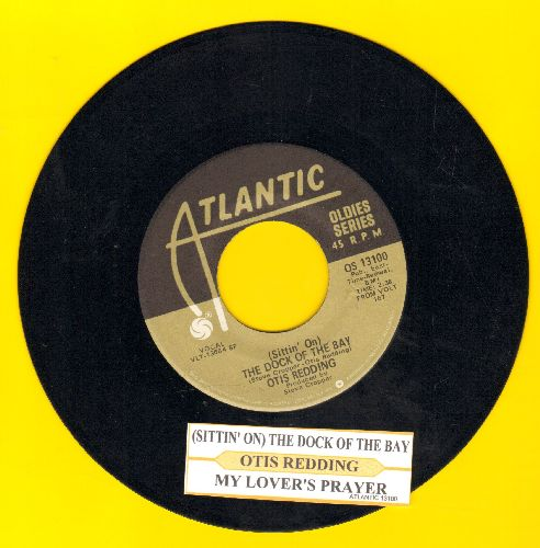 Redding, Otis - (Sittin' On) The Dock Of The Bay/My Lover's Prayer (double-hit re-issue with juke box label) - NM9/ - 45 rpm Records