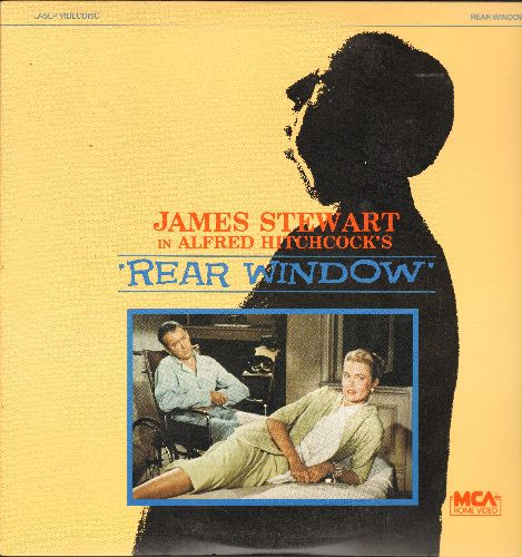 Rear Window - Rear Window - The Hitchcock Classic starring James Stewart and Grace Kelly on LASER DISC (This is a LASER DISC, not any other kind of media) - NM9/NM9 - Laser Discs