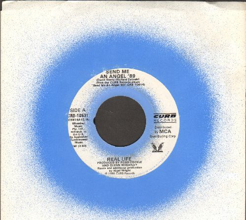 Real Life - Send Me An Angel/Always (ALTERNATE flip-side! - with Curb company sleeve) - M10/ - 45 rpm Records