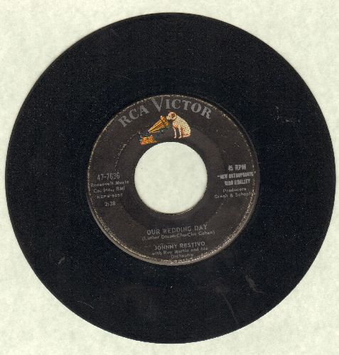 Restivo, Johnny - Our Wedding Day/Come Closer  - VG6/ - 45 rpm Records