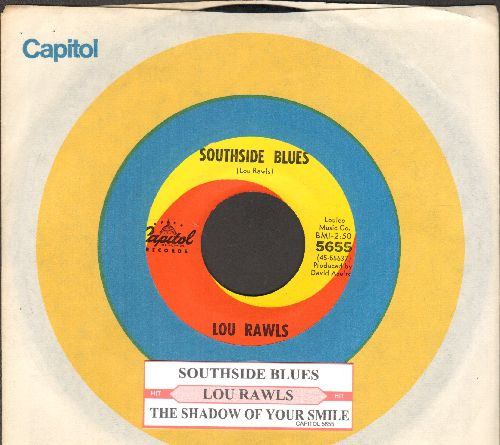 Rawls, Lou - Southside Blues/The Shadow Of Your Smile (with juke box label and Capitol company sleeve) - NM9/ - 45 rpm Records