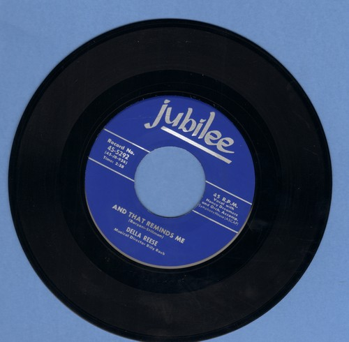 Reese, Della - And That Reminds Me/I Cried For You (MINT condition!) - M10/ - 45 rpm Records