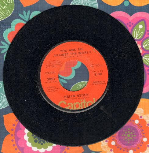 Reddy, Helen - You And Me Against The World/Love Song For Jeffrey - EX8/ - 45 rpm Records