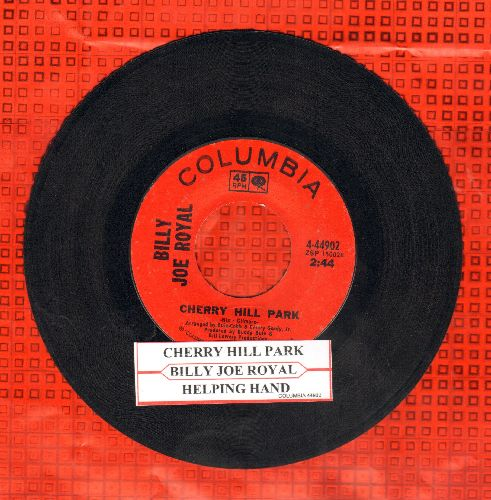 Royal, Billy Joe - Cherry Hill Park/Helping Hand (with juke box label) - EX8/ - 45 rpm Records