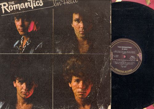 Romantics - In Heat: One In A Million, Talking In Your Sleep, Shake A Tail Feather, Open Up Your Door (Vinyl STEREO LP record) - VG7/VG6 - LP Records